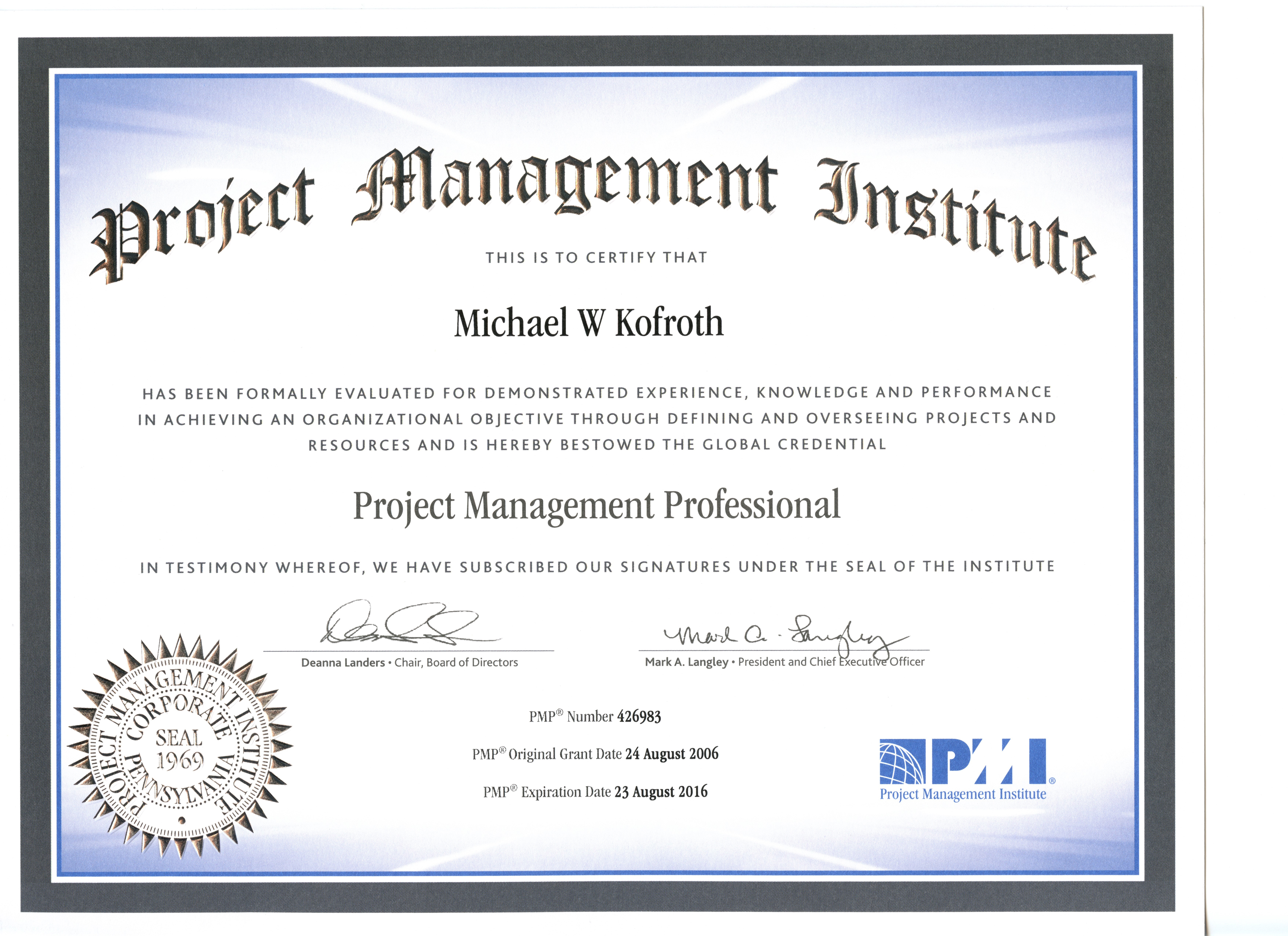 Pmp Certification Courses Research Paper Service